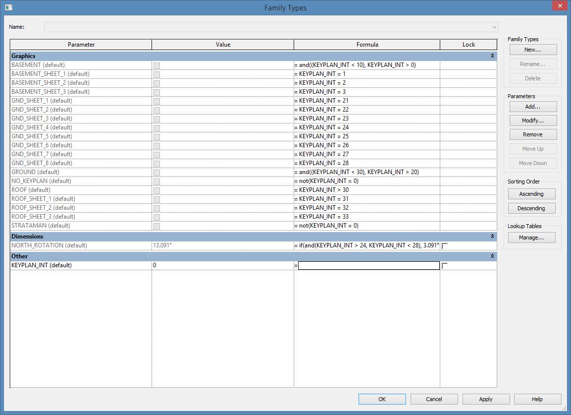 shared parameters | REVIT AU