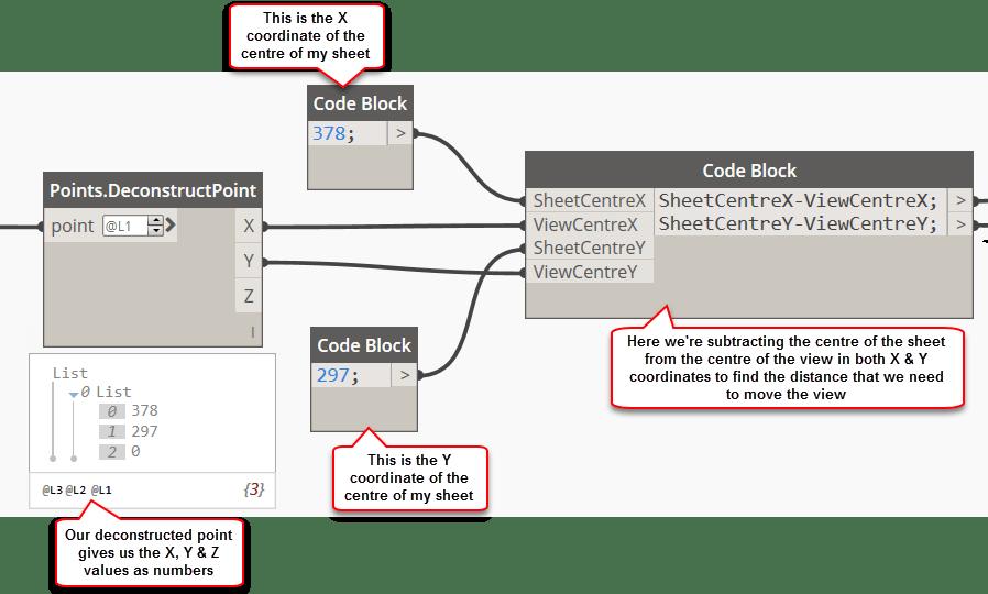 Practical Dynamo – Moving Views on Sheets | REVIT AU
