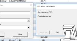 Fixing SP.Writer Run Time Error 70
