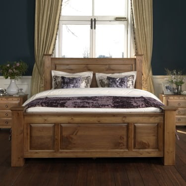 f403e2a4c60 Super Kingsize Wooden Beds Handcrafted In The Uk Revival