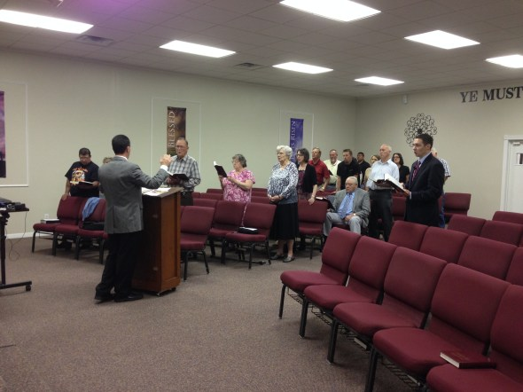 On Wednesday we visited a friendly group of people from Faith Baptist Church in Kilgore, TX.