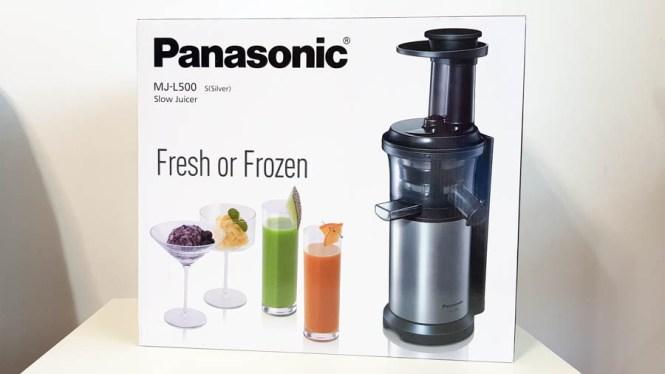 storcător de fructe cu presare la rece - Panasonic MJ-L500