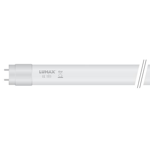 LED trubica T8/18W/1800lm 120cm, V1 jednostranná, sklenená, studená biela