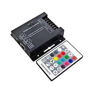 RF diaľkové ovládanie pre RGBW LED pásy + prijímač