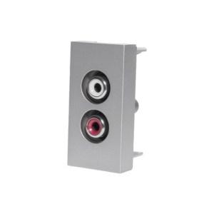 Audio konektor | Strieborný