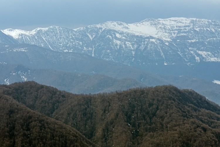 Alborz Mountains, NW Iran, 20/2/16.