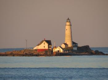 Boston Light as it looks today