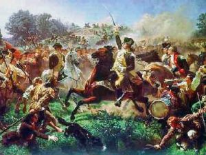 Battle of Monmouth - Washington arrives the field