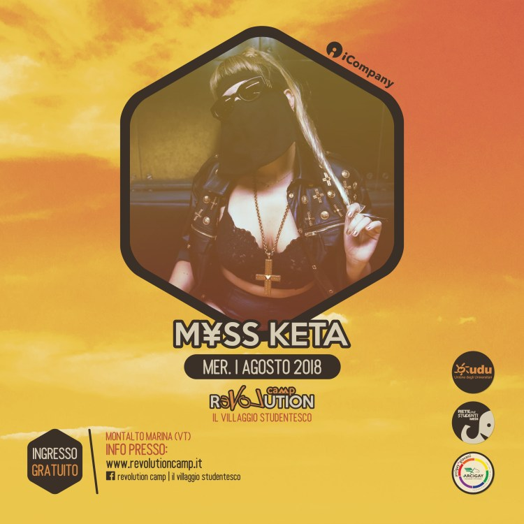 Myss Keta - Revolution Camp 2018