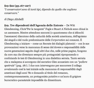 PaleWinter, lettura collettiva, David Foster Wallace, Diego Altobelli, Revolutiotine