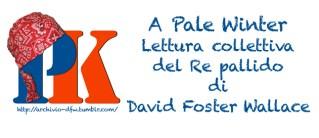 PaleWinter, Lettura collettiva, Il re Pallido, David Foster Wallace, Diego Altobelli, Revolutionine