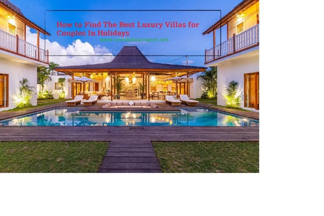 best luxury villas