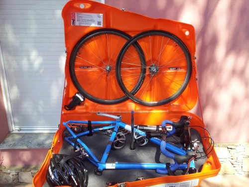 Our Bikebox Alan errm... Bike box. Awesome.