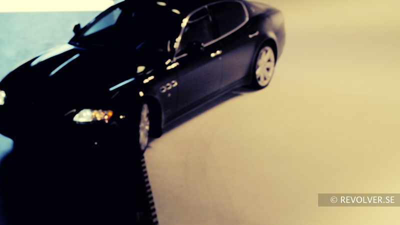 Maserati in the Revolver Studios