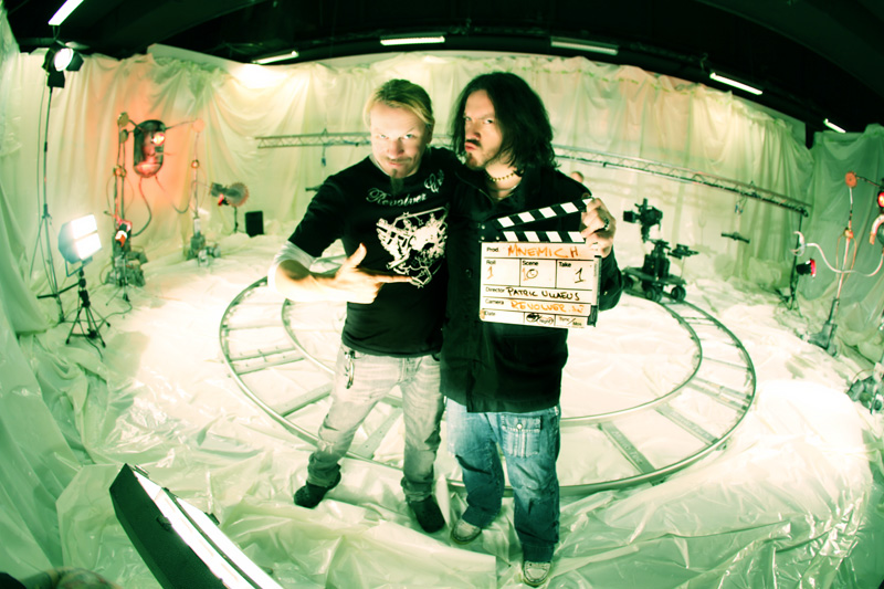director Patric Ullaeus & Guillaume Bideau of MNEMIC