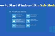 Best way to start Windows 10 in safe mode
