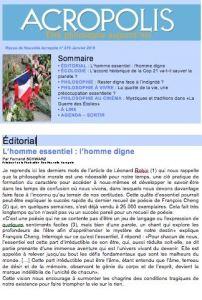 Revue Acropolis n°270