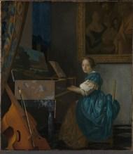 Toute l'oeuvre de Vermeer joue sur cette harmonie de contraires entre le visible et l'invisible, le dit et le non-dit, le banal et le sacré.