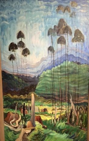 Les arbres sont vus comme des piliers qui relient le monde matériel à une réalité supérieure.