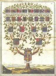 Genosociogramme, arbre généalogique familial