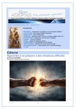 Première de couverture de la Revue Acropolis n°299