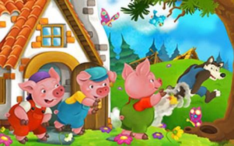 Conte des 3 petits cochons