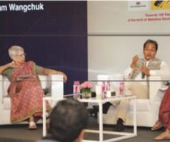 Anu Aga et Sonam Wangchuk