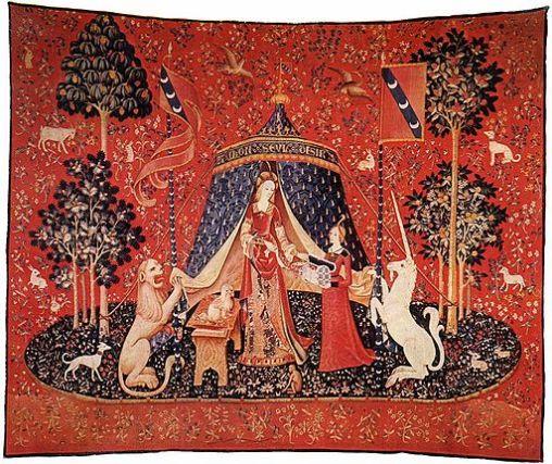 Les arbres des 6 tapisseries de la Dame à la Licorne peuvent être comparés aux vertus.