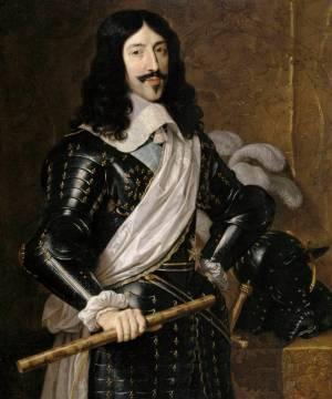 Louis XIII en majesté