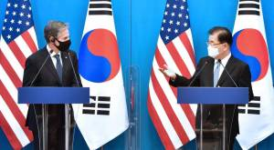 Anthony Blinken demande à la Chine de faire pression sur la Corée du Nord pour qu'elle abandonne son programme nucléaire