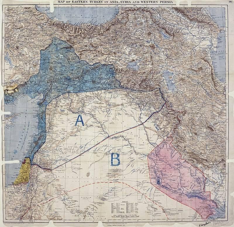 Illusion et désillusion d'une Grande Syrie arabe