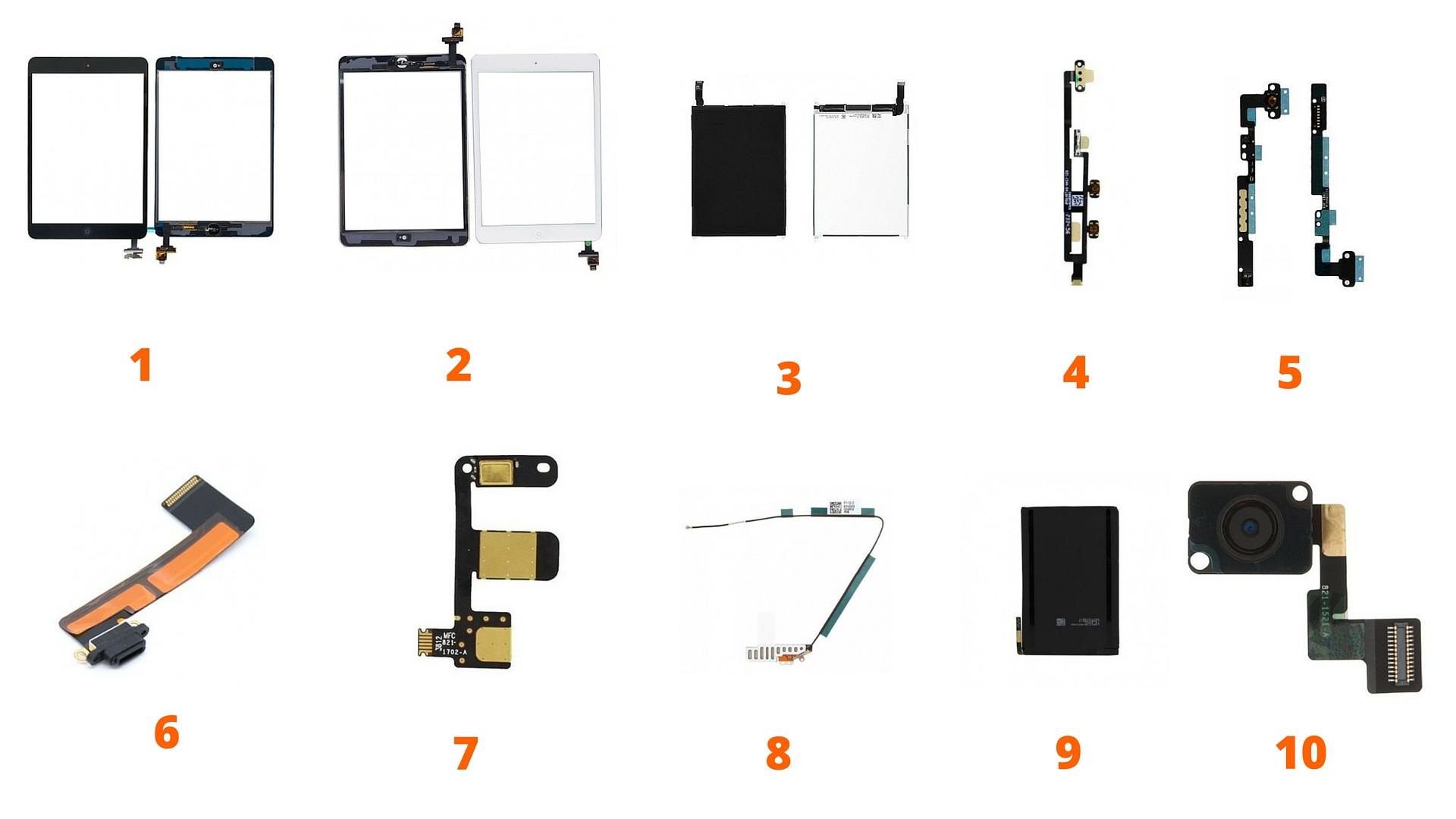 Pieces Detachees Ipad Mini