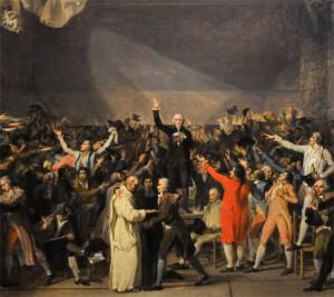Serment du jeu de Paume le 20 juin 1789