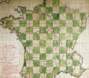 Projet du géographe Mathias Robert de Hesseln en 1780