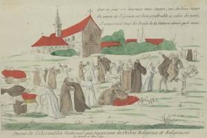Abolition des ordres religieux. Décret du 13 février 1790