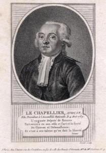 Isaac Le Chapelier (1754-1794)