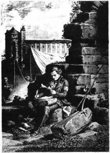 M. de Chateaubriand à l'armée de Condé