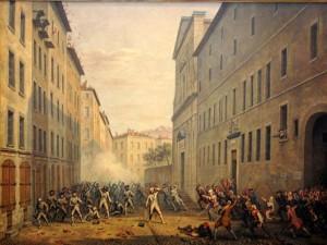 Journée des tuiles à Grenoble (7 juin 1788) manifestation populaire contre la réforme Lamoignon