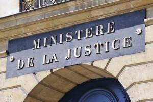 Frontispice du Ministère de la Justice (Paris)
