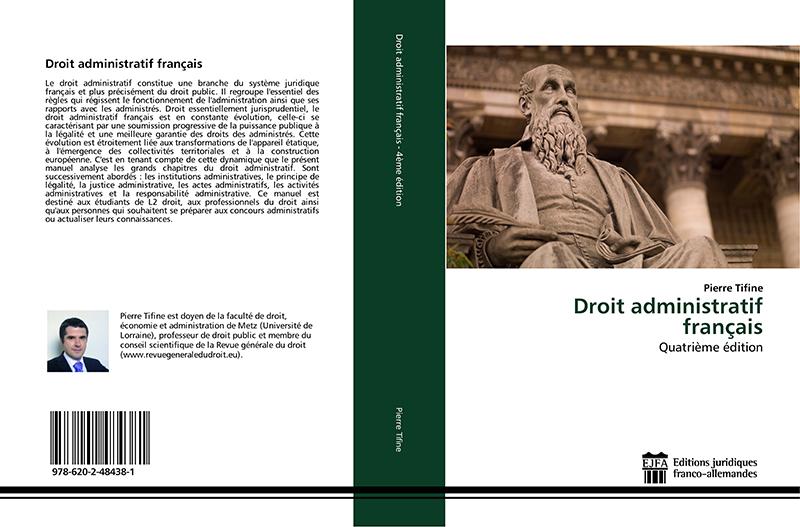 Pierre Tifie, Droit administratif français, 4ème édition
