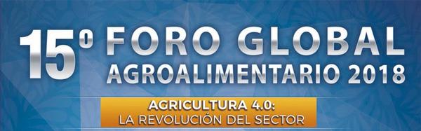 Resultado de imagen para Foro Global Agroalimentario 2018