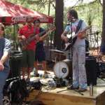 The Ginger Ninjas and their bicycle powered Rock Band (photos from last year's festival)