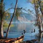 Lake scene (San Pedro de la Laguna) —Liz Ballantyne-Jackson