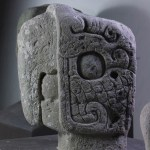 Macaw-inspired ballcourt marker, Museo de Escultura, Copán, Honduras (Nicholas Hellmuth)
