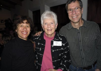 Sue Patterson (center) with WINGS supporters