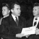 Arthur Tewes Kennedy and Richard Nixon