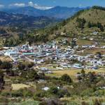 The town of Ixchiguán is surrounded by strangely-shaped mountains and hills, and dozens of rivers and streams meander through the cool alpine forests and tundra-like grasslands.