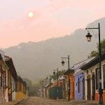 Colorful sunrise (La Antigua) —José Chavarría www.JCHPhotography.net