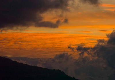 Amazing Sunsets at Finca El Pilar Nature Reserve by Thor Janson