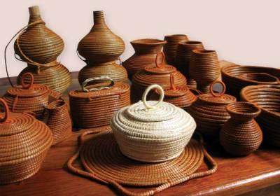 Coiling Baskets by Asociacion de Mujeres Artesana de San Jacinto (AMASAJA)